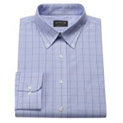 Arrow Regular-Fit Checked No-Iron Button-Down Collar Dress Shirt