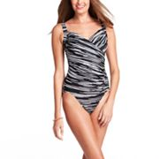 Upstream Surplice One-Piece Swimsuit