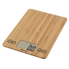 Escali Bamboo Slim Digital Kitchen Scale
