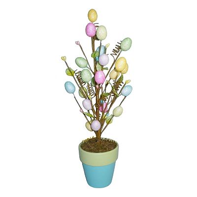 Blossoms and Blooms Easter Egg Tree