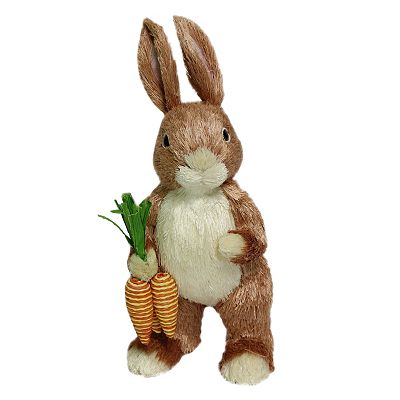 Blossoms and Blooms Easter Bunny Decor