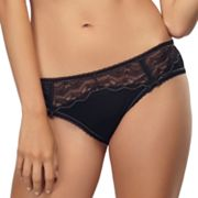 Jezebel Ravishing Lace-Inset Cheeky Hipster