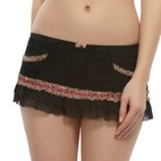 Jezebel Tease Animal Lingerie Skirt