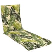 SONOMA life + style Palm Outdoor Chaise Lounge Chair Pad