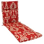 SONOMA life + style Ikat Outdoor Chaise Lounge Chair Cushion