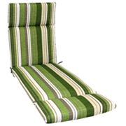 SONOMA life + style Striped Outdoor Chaise Lounge Chair Cushion