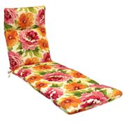 SONOMA life + style Floral Outdoor Chaise Lounge Chair Pad