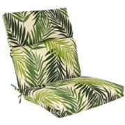 SONOMA life + style Palm Outdoor Seat and Back Chair Cushion