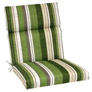 SONOMA life + style Striped Outdoor Seat and Back Chair Cushion