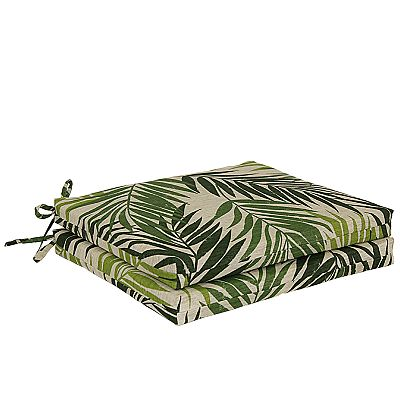 SONOMA life + style Palm 2-pc. Outdoor Chair Cushion Set