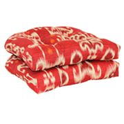 SONOMA life + style Ikat 2-pc. Outdoor Wicker Chair Cushion Set