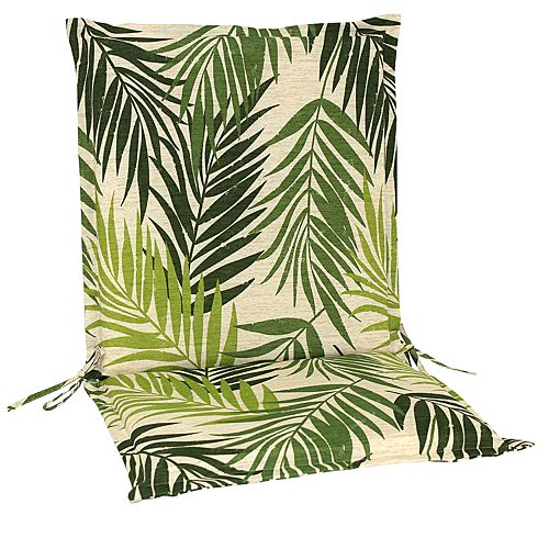 Sonoma Life + Style Palm Outdoor Flanged Seat And Back Chair Cushion