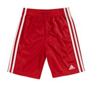 adidas Striped Mesh Shorts - Toddler