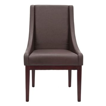 Safavieh Brown Sloping Armchair