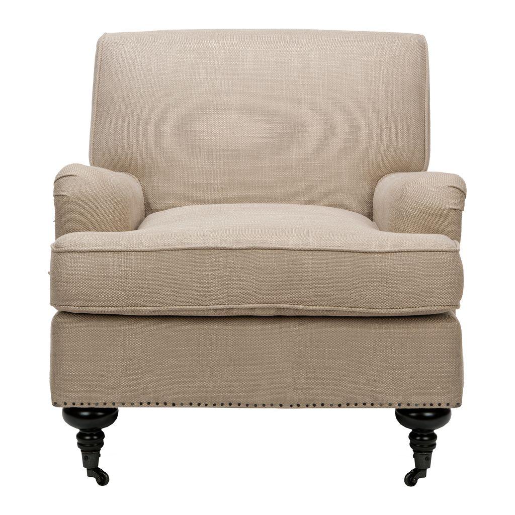 Safavieh Chloe Linen Club Chair