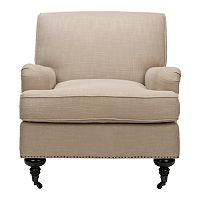 Safavieh Chloe Linen Club Chair