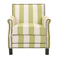 Safavieh Easton Striped Club Chair