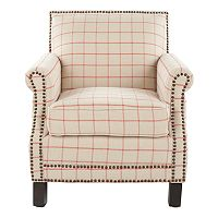 Safavieh Easton Club Plaid Chair