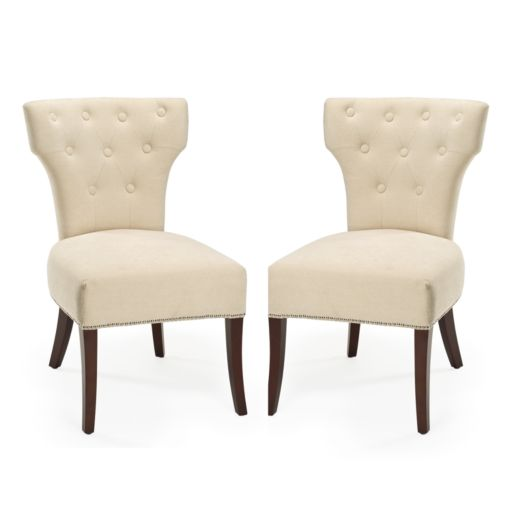 Safavieh 2-pc. Broome Sand Side Chair Set