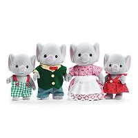 Calico Critters Ellwoods Elephant Family Set