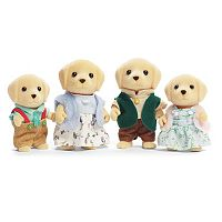 Calico Critters Yellow Labrador Family Set
