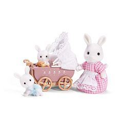 Calico Critters Connor & Kerri's Carriage Ride Set