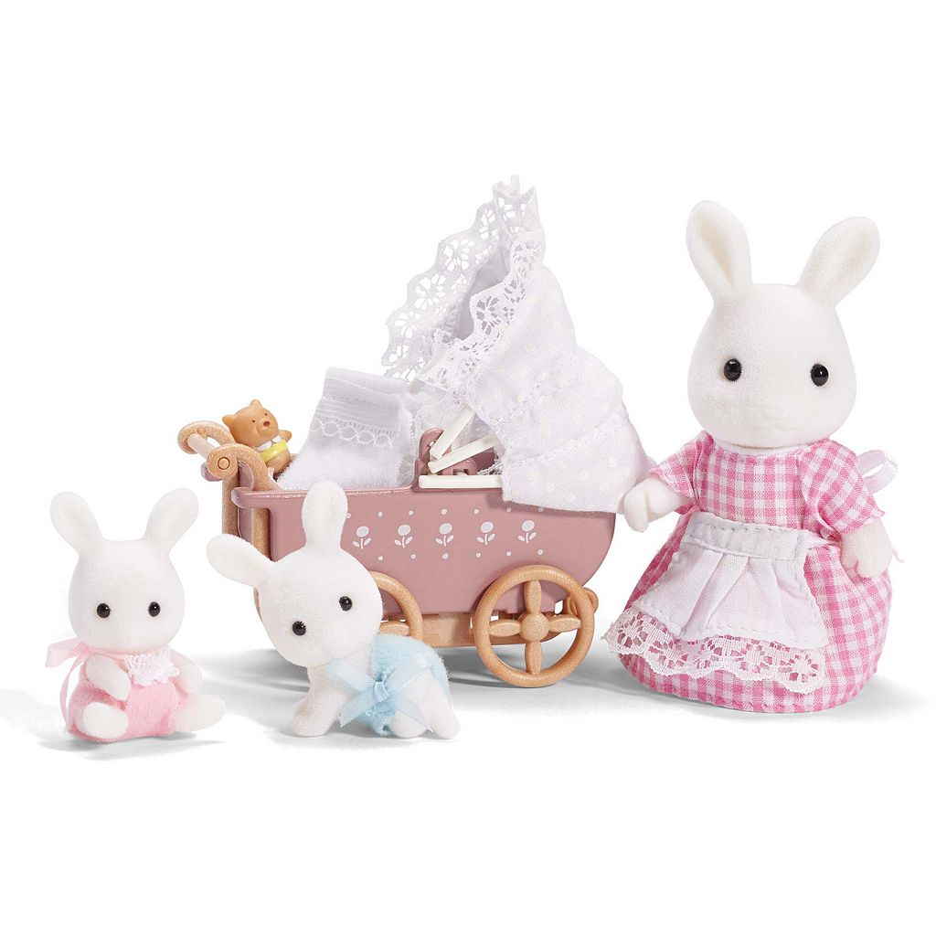 Calico Critters Connor and Kerri's Carriage Ride Set