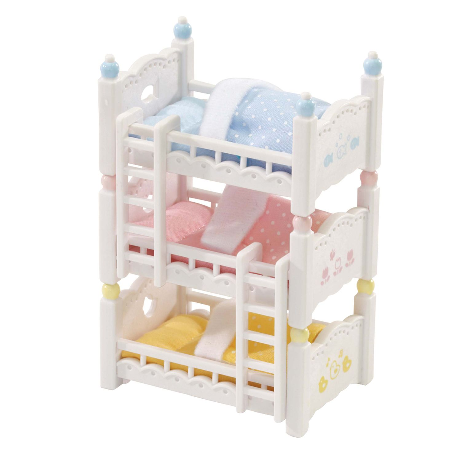 Picture of: Calico Critters Triple Baby Bunk Beds Set Kohls
