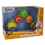 Kidoozie Press 'n Go Inchworm
