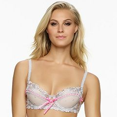 Jezebel Bra: Desire Sheer Lace Unlined Demi Bra 10427