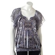 Apt. 9 Paisley Sublimation Top