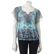 Apt. 9 Animal Sublimation Top