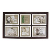 Fetco Portage 6-Opening Matted Collage Frame