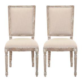 Safavieh 2-piece Andrew Side Chair Set