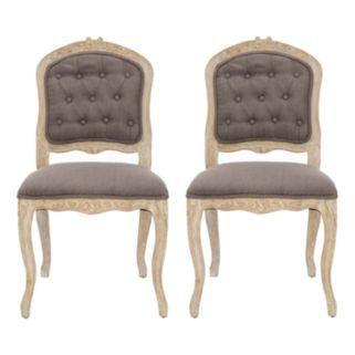 Safavieh 2-pc. Carrisa Side Chair Set
