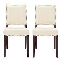 Safavieh 2 pc James Cream Side Chair Set