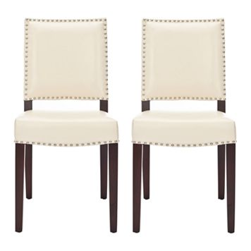 Safavieh 2-pc. James Cream Side Chair Set