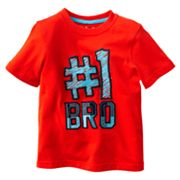 Jumping Beans Number 1 Bro Tee - Toddler