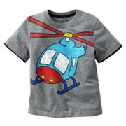 Jumping Beans Mock-Layer Helicopter Tee - Toddler