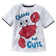 Jumping Beans Mock-Layer Crab Tee - Toddler