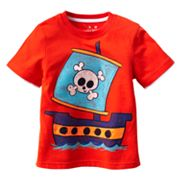 Jumping Beans Mock-Layer Pirate Ship Tee - Toddler