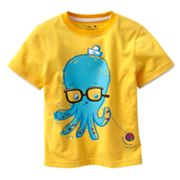 Jumping Beans Mock-Layer Octopus Tee - Toddler