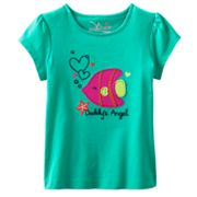 Jumping Beans Daddy's Angel Fish Tee - Toddler