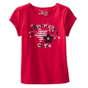 Jumping Beans All American Cutie Tee - Toddler
