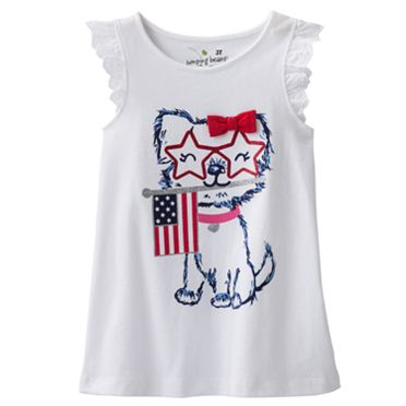 Jumping Beans Patriotic Puppy Tank - Toddler