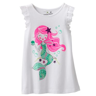 Jumping Beans Mermaid Tank - Toddler