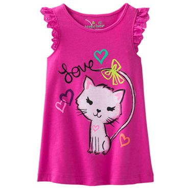 Jumping Beans Kitten Tank - Toddler