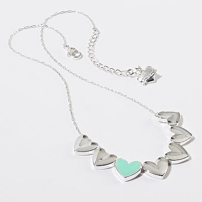 Princess Vera Wang Heart Necklace