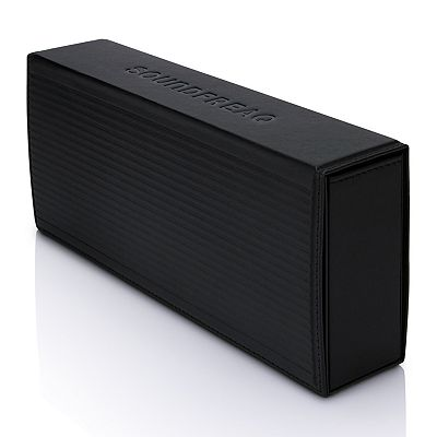 Soundfreaq Kick High Performance Bluetooth Portable Sound System with Leather Case