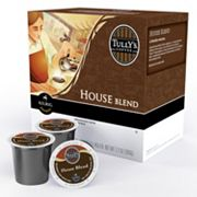 Keurig K-Cup Portion Pack Tully's Coffee House Blend Medium Roast Coffee - 18-pk.